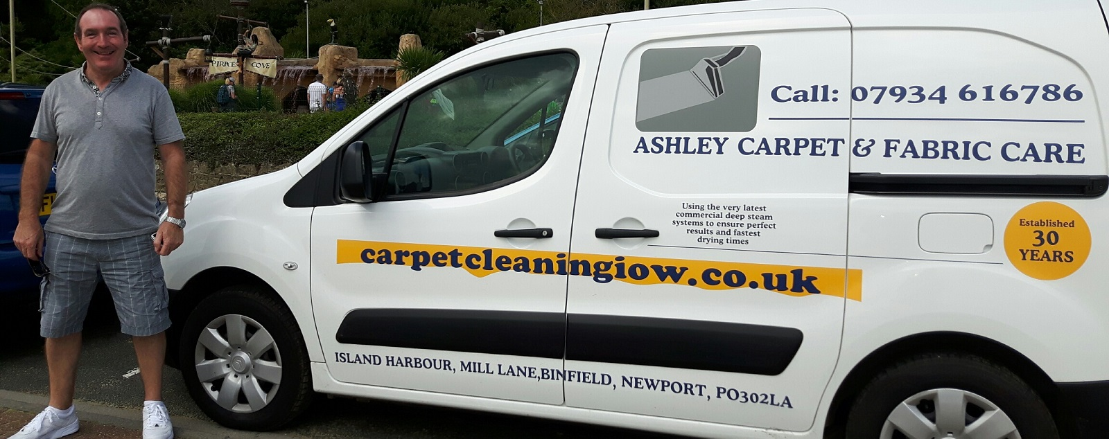 carpet cleaning iow
